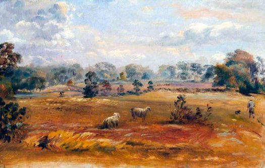 Purley Downs, Sanderstead, Surrey by Walter William Acock