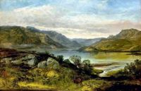 Overlooking Glendaruel by Joseph Adam (1819-86)