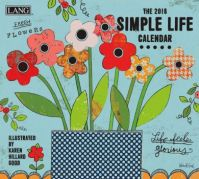 LANG 2018 Wall Calendar Simple Life