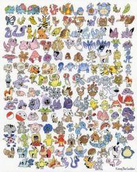 1st Gen. Pokemon by Kasey Golden