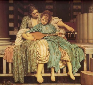 Music Lesson Lord Frederick Leighton