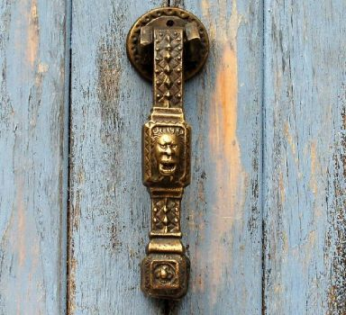 Door Knocker  ~  Lionman
