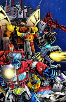 Autobots by wil_woods