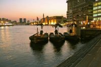 Dawn in Dubai Creek