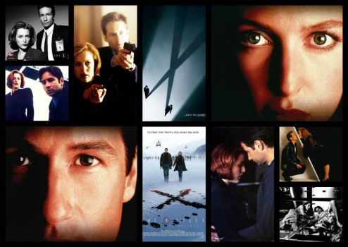 XFiles Collage - Way not easy