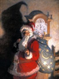 Newell Convers Wyeth-Old Kris Kringle