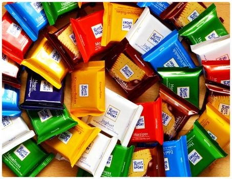 Ritter Sport Choco Covered Biscuits