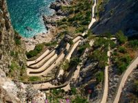 Serpentine path on Capri