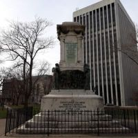 Columbus Monument without statue Newark