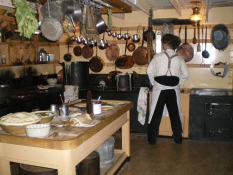 Galley on SS Great Britain