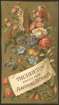 Themes Vintage ads - Thurbers`Flavoring Extracts