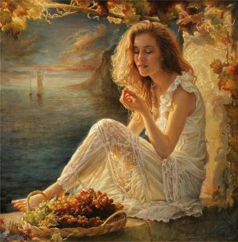 Blissful Moment, Helene Beland