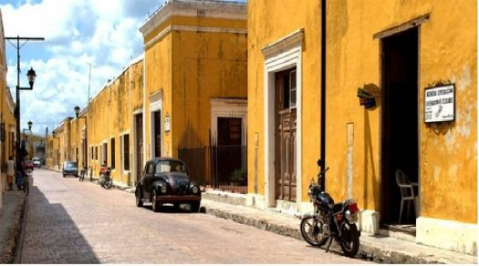 Streets of Izamal, Mexico