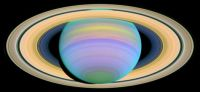Ultraviolet Saturn