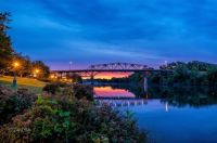 Evening Falls on the Clinch River (extra large)
