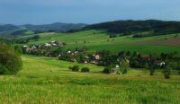 czech republic countryside.