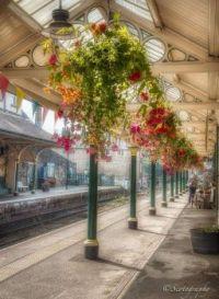 Railway Station Knaresborough, North Yorkshire