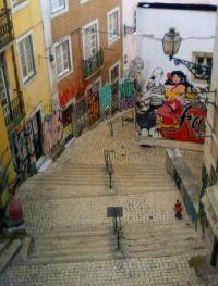 Mural Fado Vadio, Lisboa