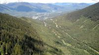 Whistler gondola view, June
