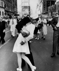 VJ Day, Time Square, NYC