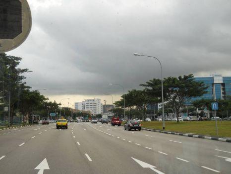 Rain clouds gathering strength