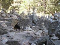 Cairn Garden near Mirror Lake, Yosemite