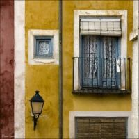 Balcony in Cuenca, Spain, photo by Paco Lozano