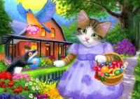 Eliza's Easter Morning