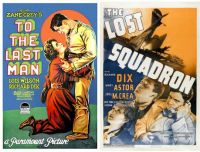 Richard Dix ~ To the Last Man ~ 1923 and The Lost Squadron ~ 1943