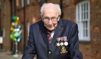 He captured our Hearts, 100 year old Captain Sir Tom Moore died of Covid and Pneumonia yesterday.  RIP.♥