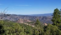 Overlook of the Gila National Forest