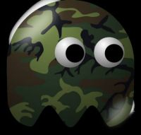 Camo Ghost Pac Man