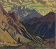 Mount Goodsir, Yoho Park, 1925 J.E.H. MacDonald.