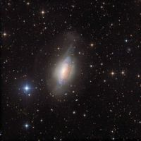 """""""NGC 3521: Galaxy in a Bubble"""""""