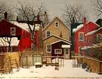 """""""Behind Grange Avenue"""" by John Kasyn"""
