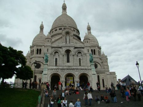 Sacre-Coeur Basillica - Paris, France