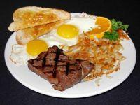 Steak ad Eggs