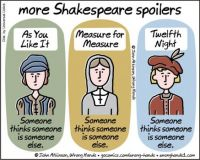 more Shakespeare spoilers