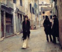 """Street in Venice"" (1882) by John Singer Sargent."