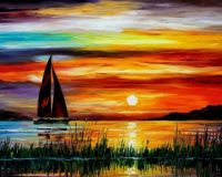 sunset-sea-boat