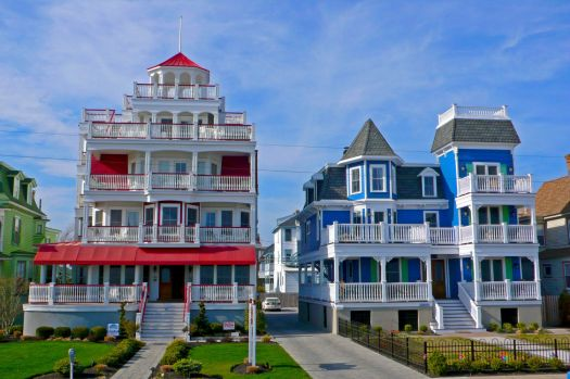 Cape May Victorian Houses