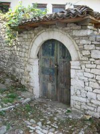 door in Albania