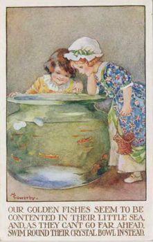 Girls and Goldfish