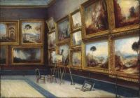 Bertha Mary Garnett A corner of the Turner room in the National Gallery 1883