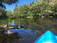 New kayaking spot - the local river