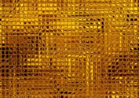 Gold Mosaic Tile Background