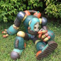 Robot Ponders by Michael Klapthor