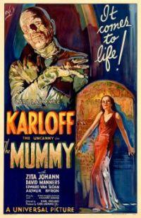 The Mummy (1932) movie poster