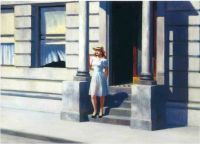 Edward Hopper - Summer (1943)