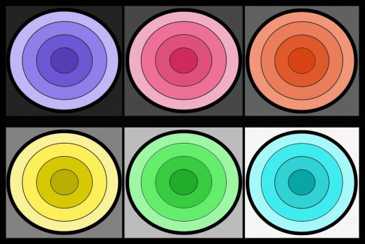 Bright Circles are Fun